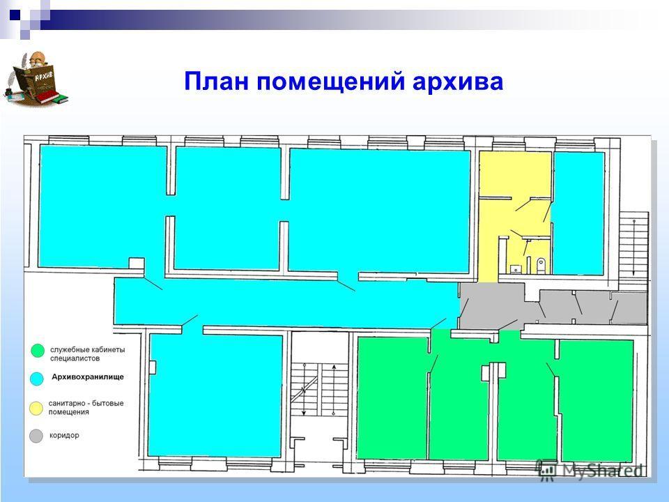 План помещений архива
