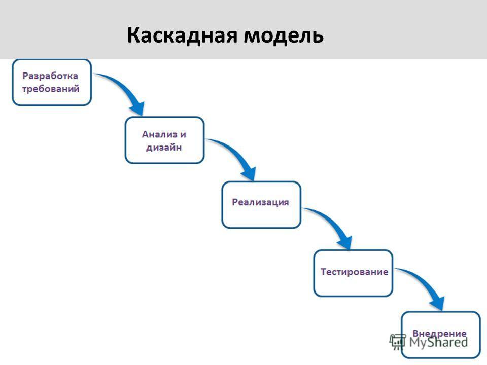 Каскадная модель