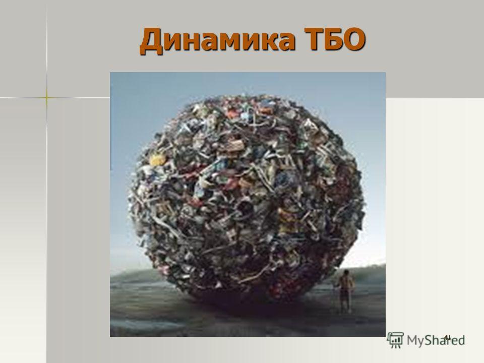 Динамика ТБО 41