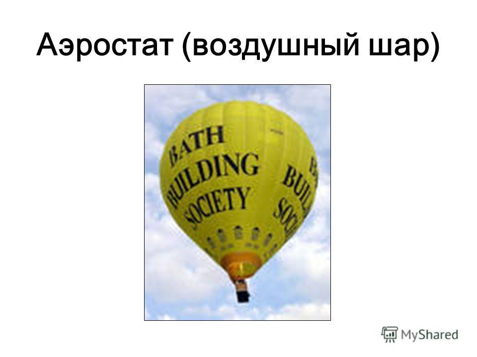 Аэростат (воздушный шар)