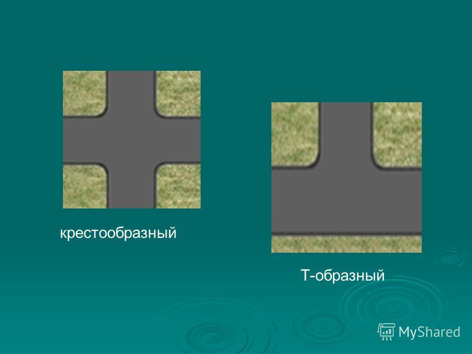крестообразный Т-образный