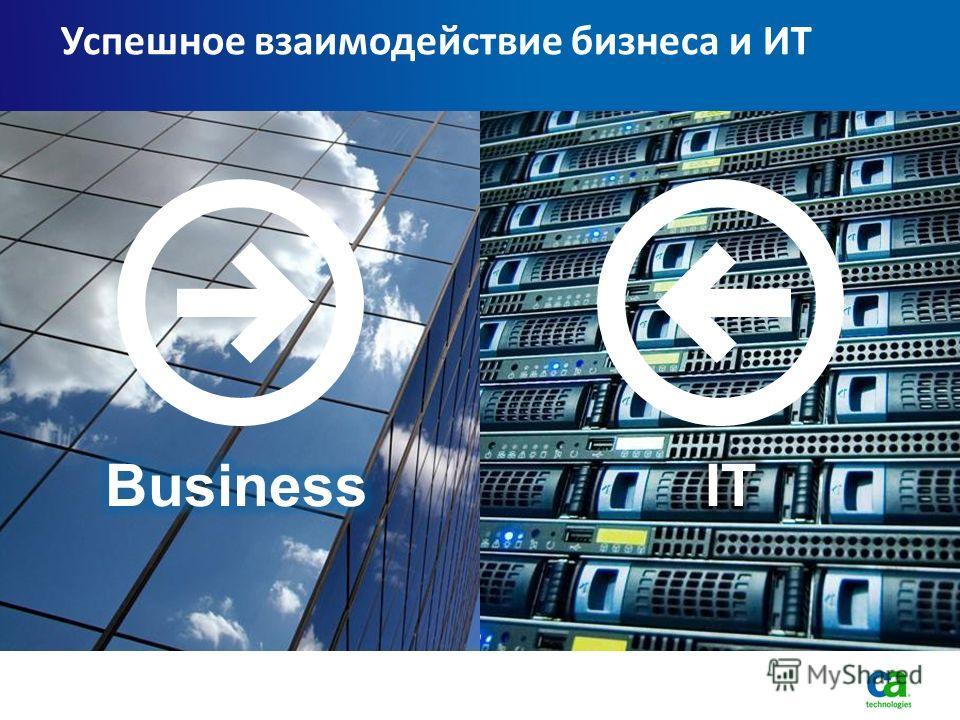 Успешное взаимодействие бизнеса и ИТ
