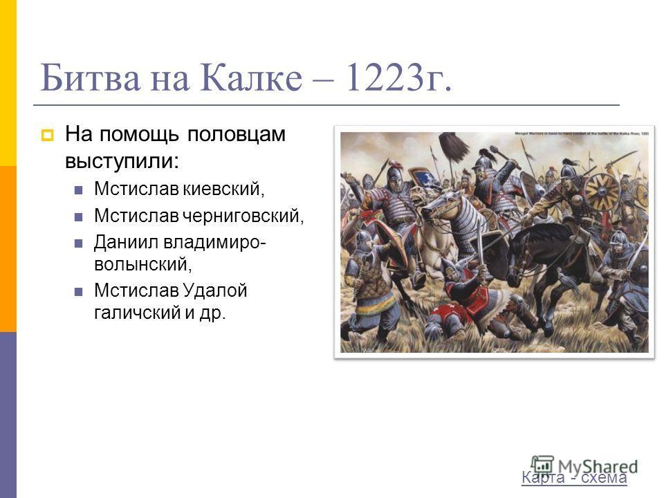 Битва на Калке – 1223г.