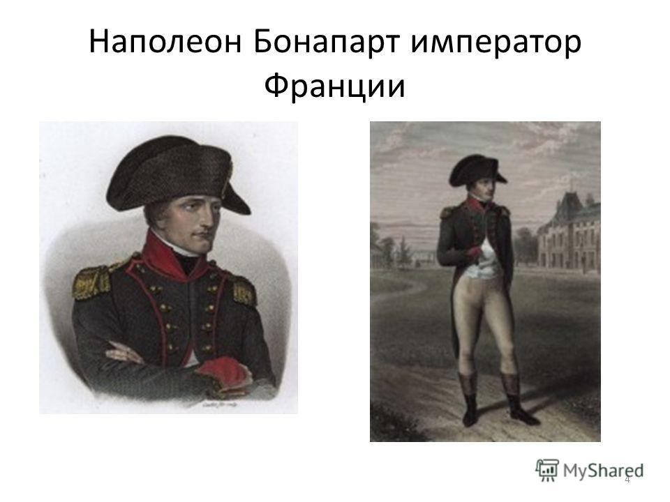 Наполеон Бонапарт император Франции 4