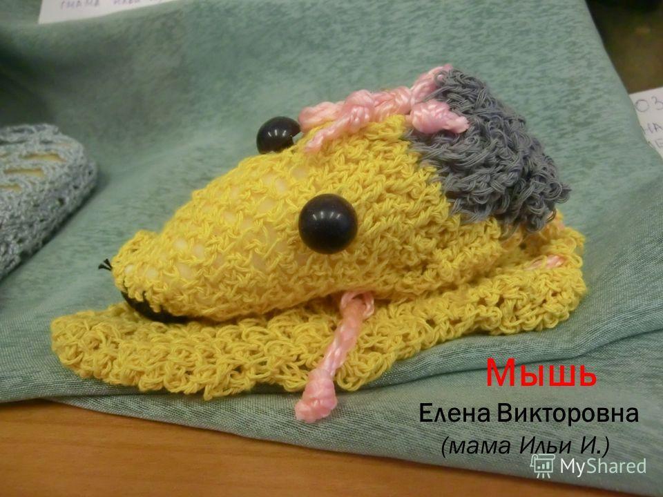 Мышь Елена Викторовна (мама Ильи И.)