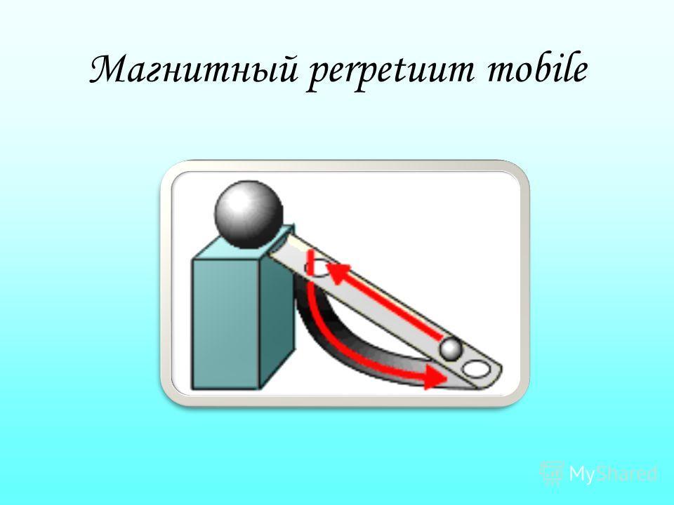 Магнитный perpetuum mobile
