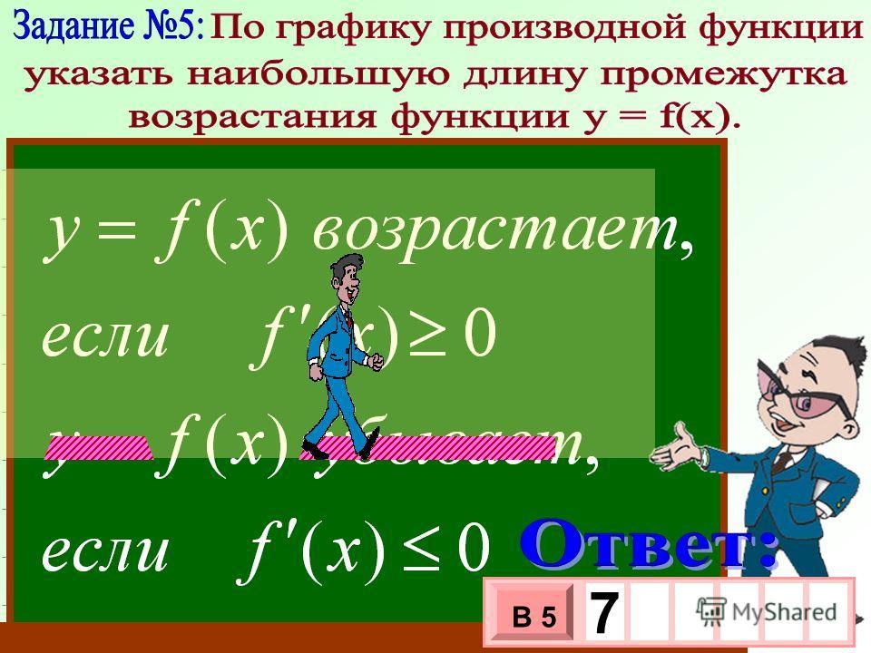 0 a b x y y = f (x) - 3 х 1 0 х В 5 7