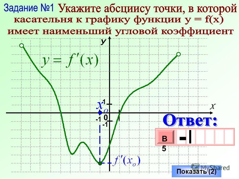 0 У Х 1 1 Показать (2) - 3 х 1 0 х В5В5 -