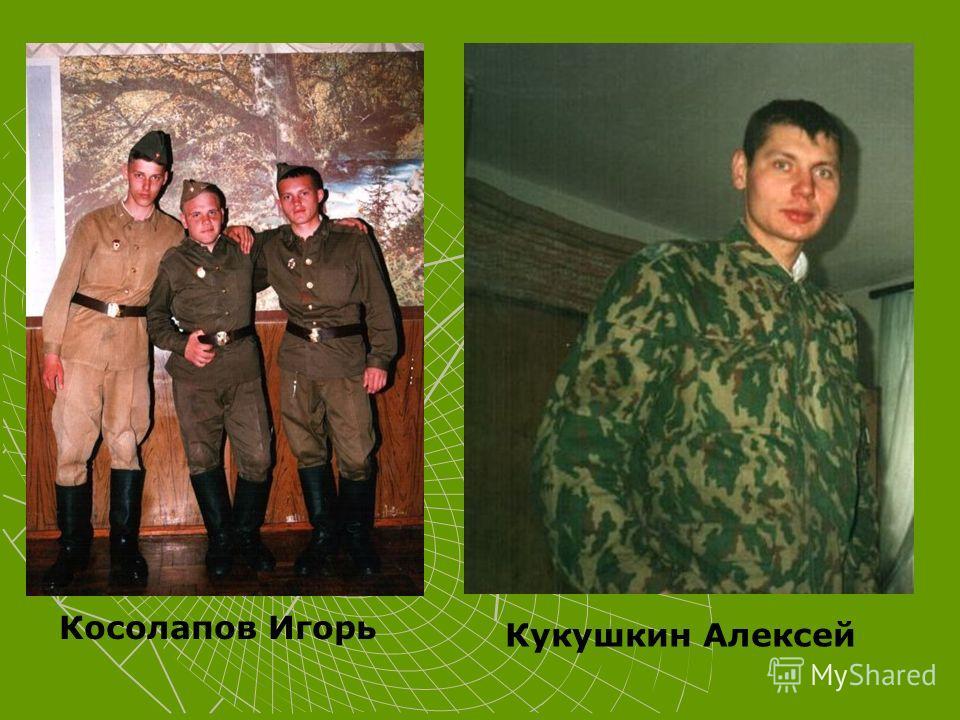 Косолапов Игорь Кукушкин Алексей