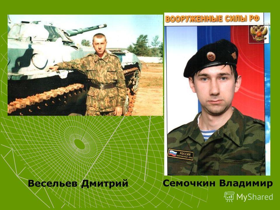 Весельев Дмитрий Семочкин Владимир