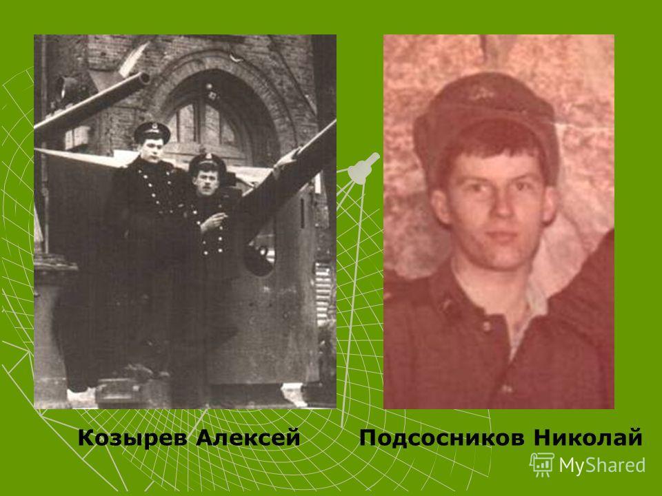 Козырев АлексейПодсосников Николай