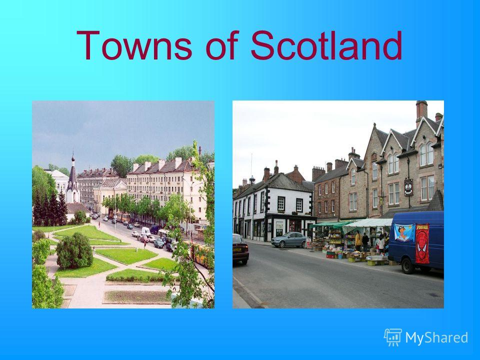 Towns of Scotland