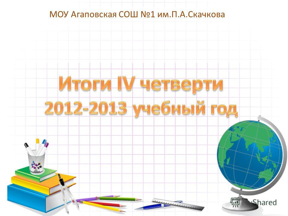 МОУ Агаповская СОШ 1 им.П.А.Скачкова