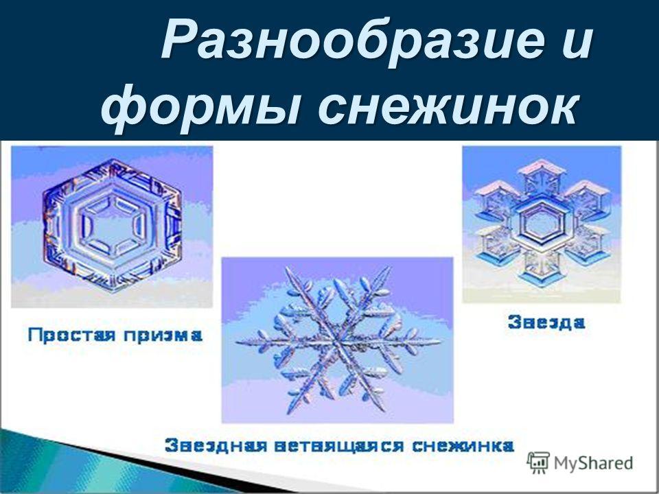 Образование снежинок