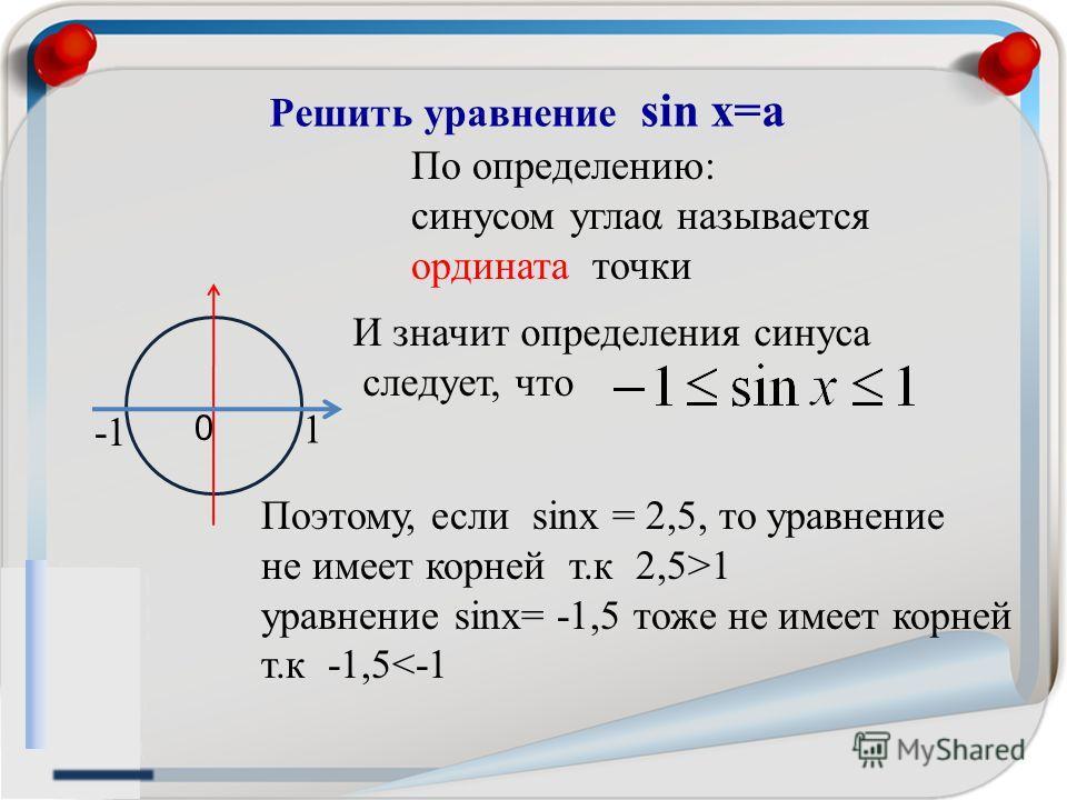 Решить уравнение COS 3x = 1