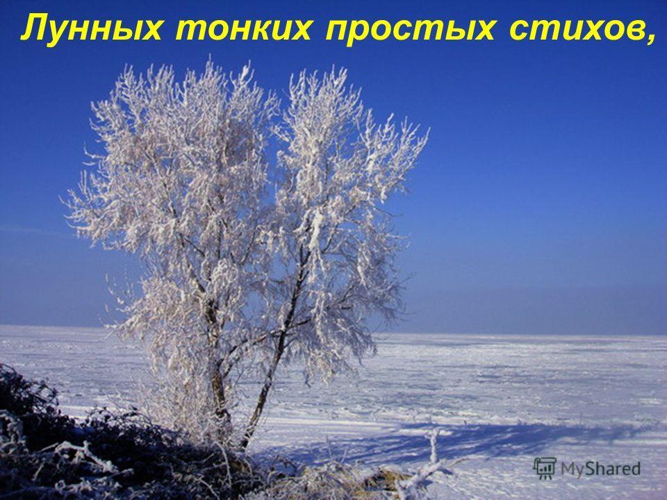 В ней - фантазии зимних фей,