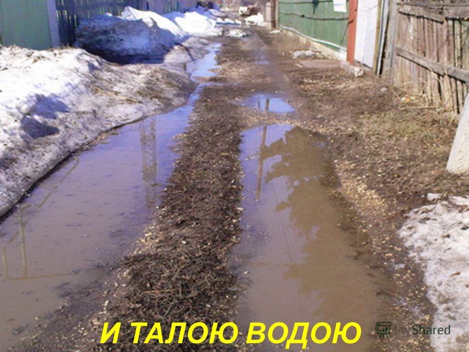 РАСТАЯЛ, ПОТЕМНЕЛ
