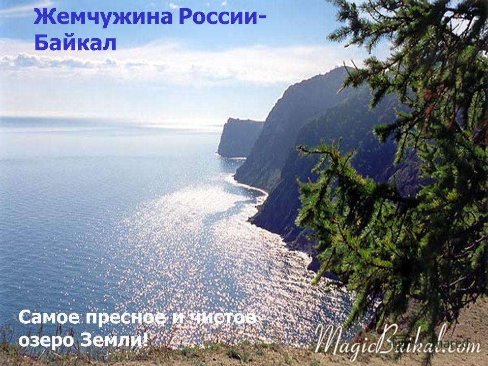 Жемчужина России- Байкал Самое пресное и чистое озеро Земли!