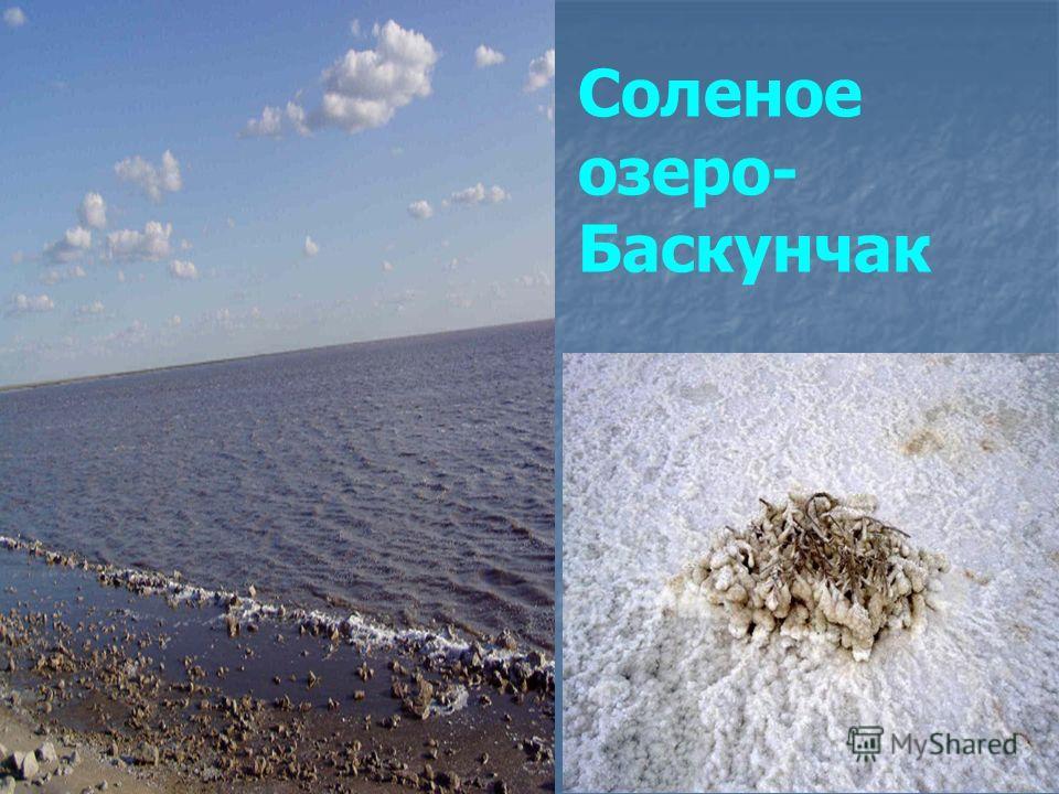 Соленое озеро- Баскунчак