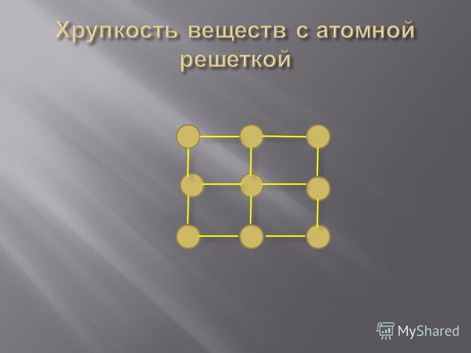Металлический блеск Теплопроводность Электропроводность Ковкость ( пластичность )