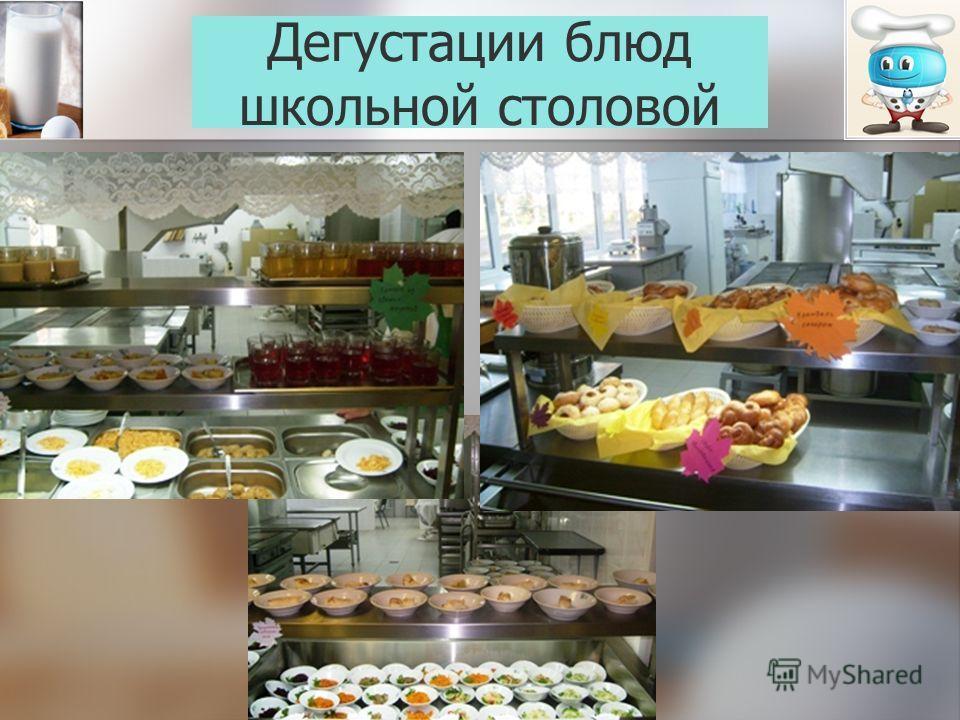 Дегустации блюд школьной столовой