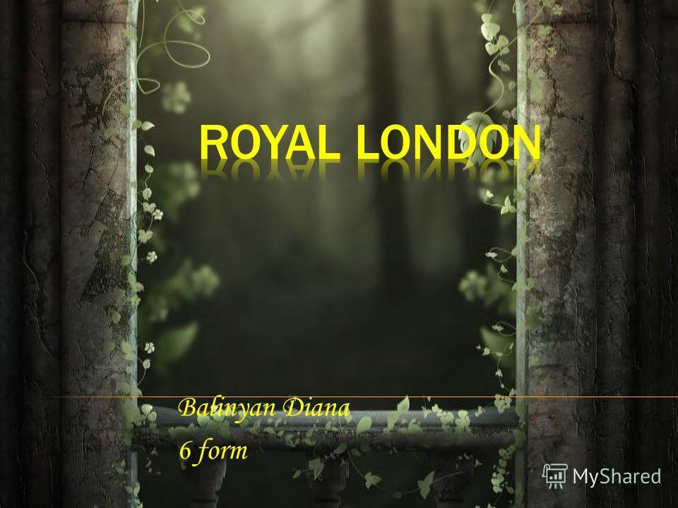 Balinyan Diana 6 form