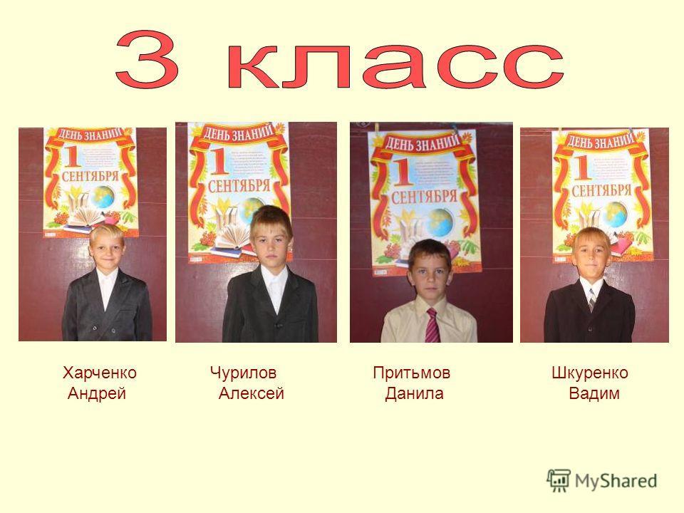 Шкуренко Вадим Притьмов Данила Харченко Андрей Чурилов Алексей