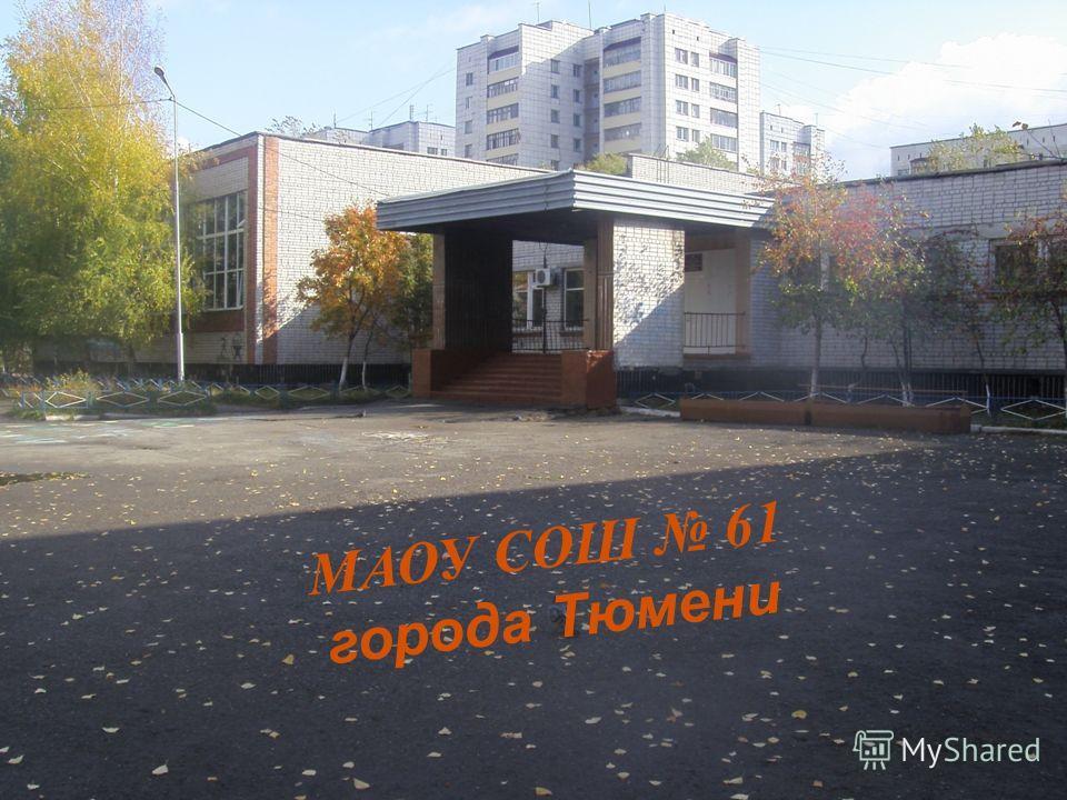 МАОУ СОШ 61 города Тюмени