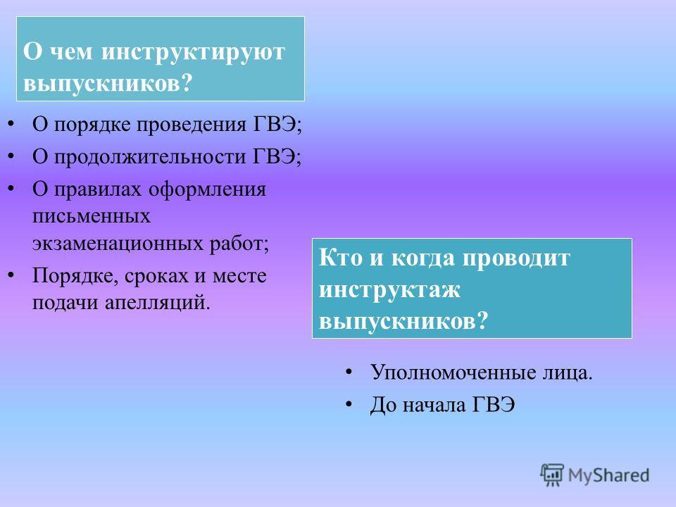 Кто может присутствовать в ППЭ? Представители средств массовой информации; Общественные наблюдатели; Должностные лица органа исполнительной власти субъекта РФ, осуществляющего управление в сфере образования, Рособрнадзора.