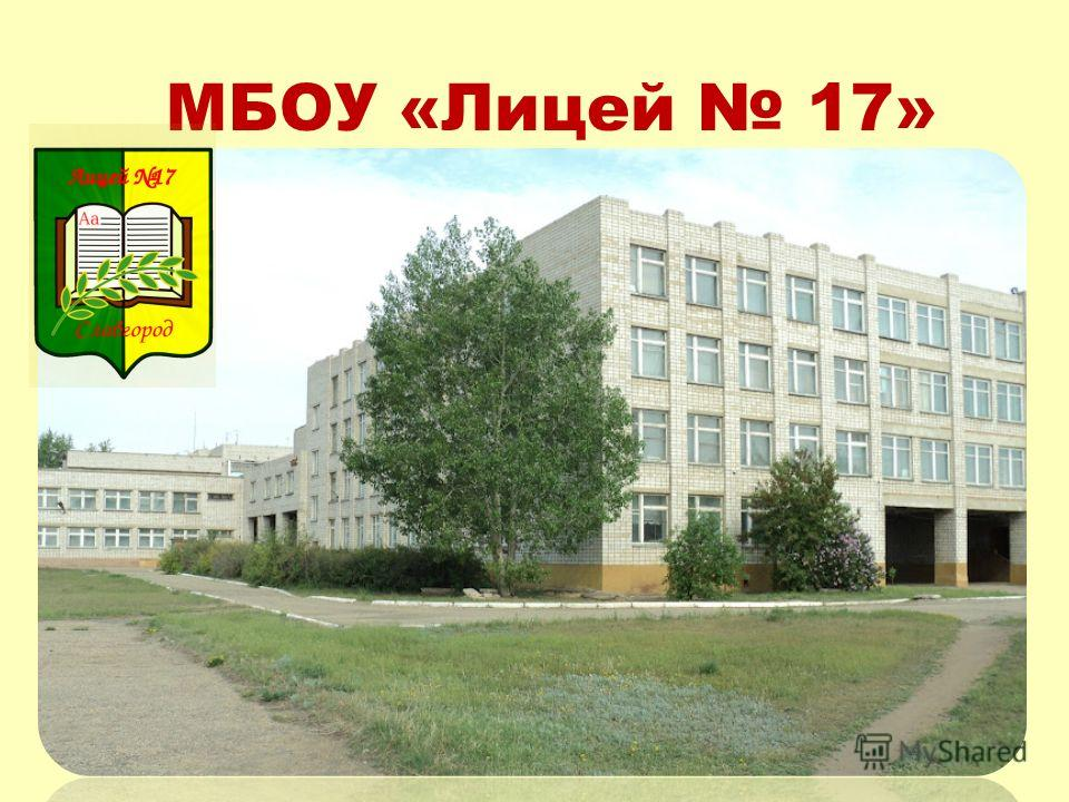 МБОУ «Лицей 17»