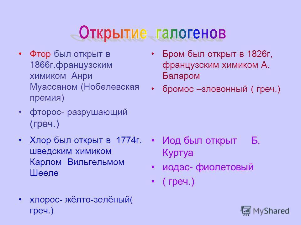 17.12.20135 5 главная NaClKCl CaF 2 NaBrKBr NaIKI F - 0,027 Cl - 0,045 Br - 0,00016 I - 0.00003 Содержание в земной коре(%) Флуорит- составная часть апатитов и фосфоритов, а также криолита. NaCl –галит (каменная, поваренная соль), KCl-сильвин, (Na, K