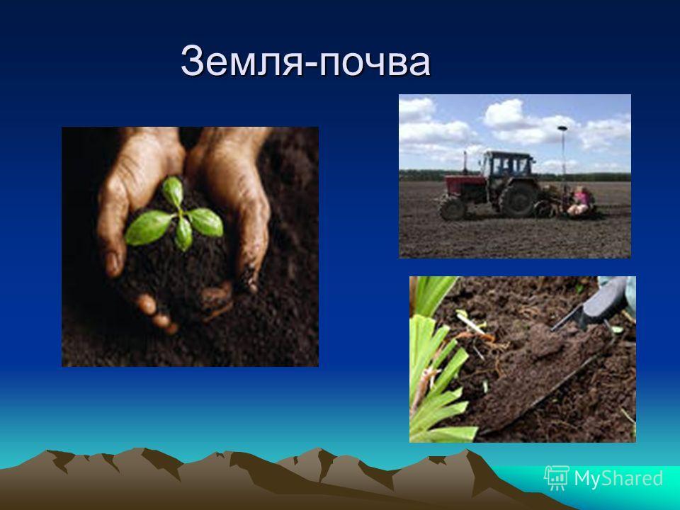 Земля-почва