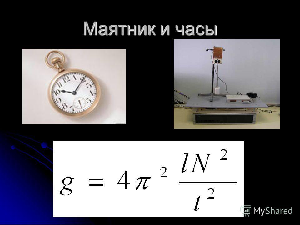 Маятник и часы