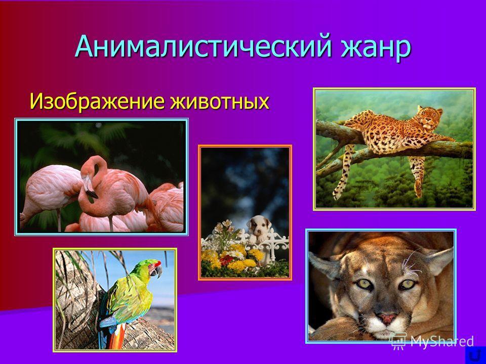 Анималистический жанр Изображение животных