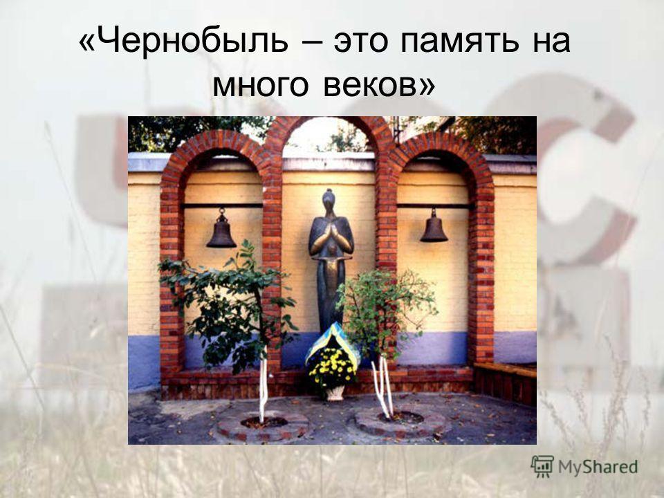 «Чернобыль – это память на много веков»