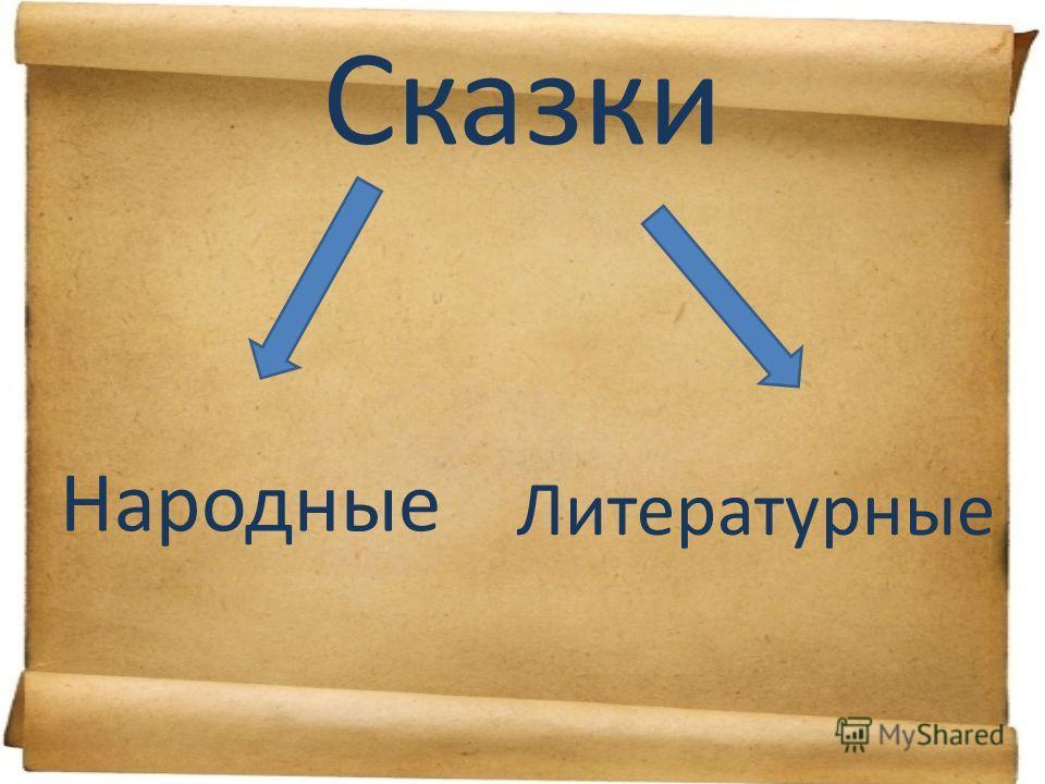 Сказки Народные Литературные