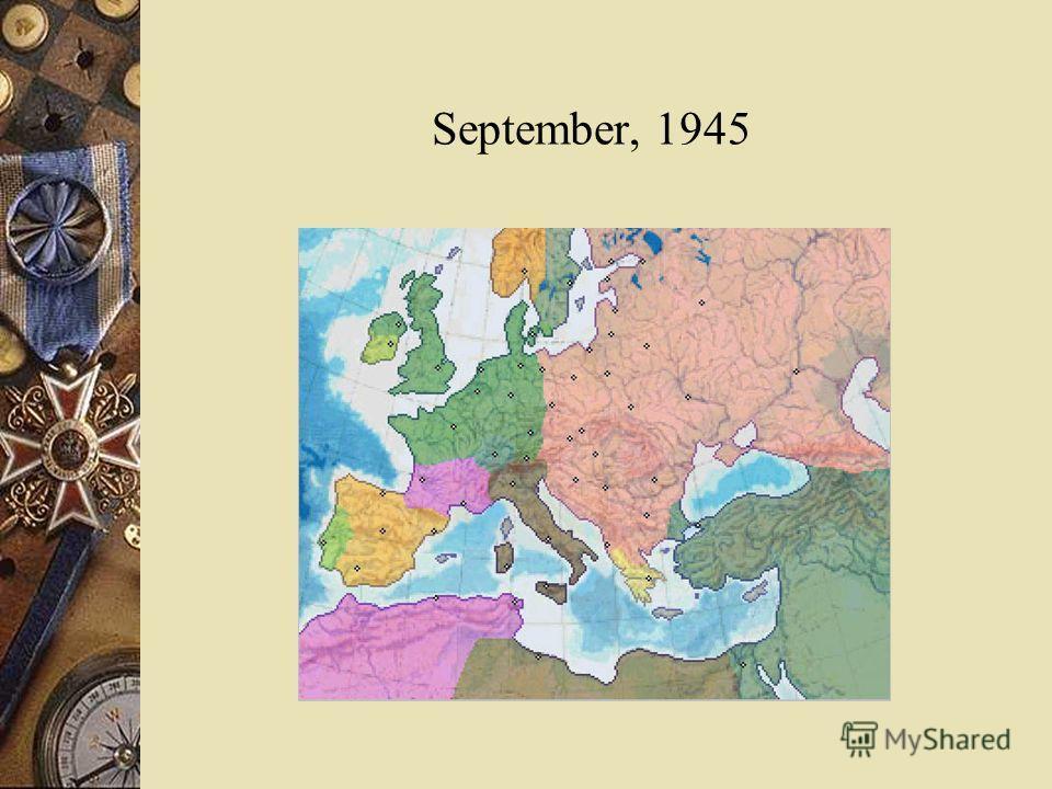 September, 1945