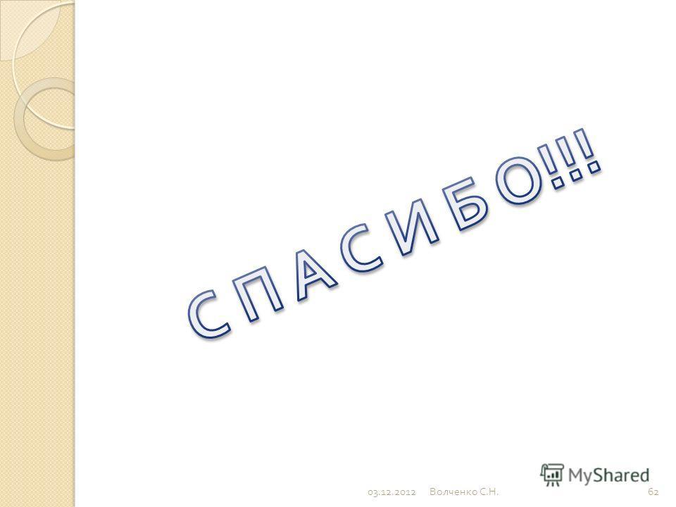 03.12.201261 Волченко С. Н.