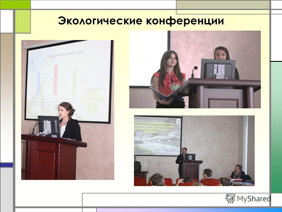 Экологические конференции