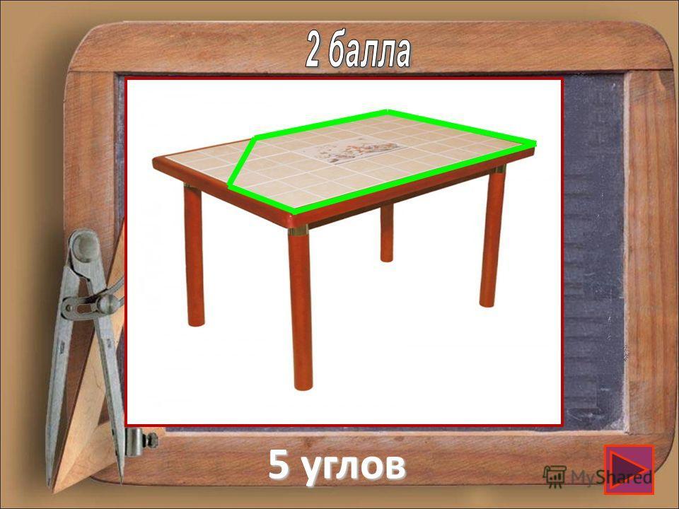 Крышка стола имеет 4 угла. Один из них отпилили. Сколько углов стало?