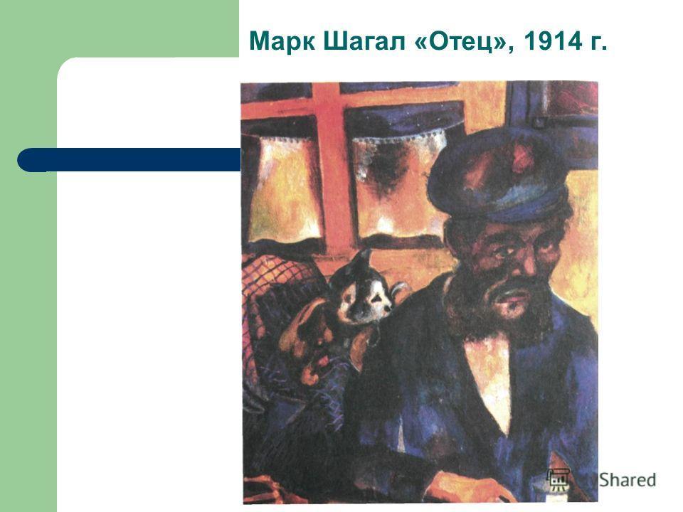 Марк Шагал «Отец», 1914 г.