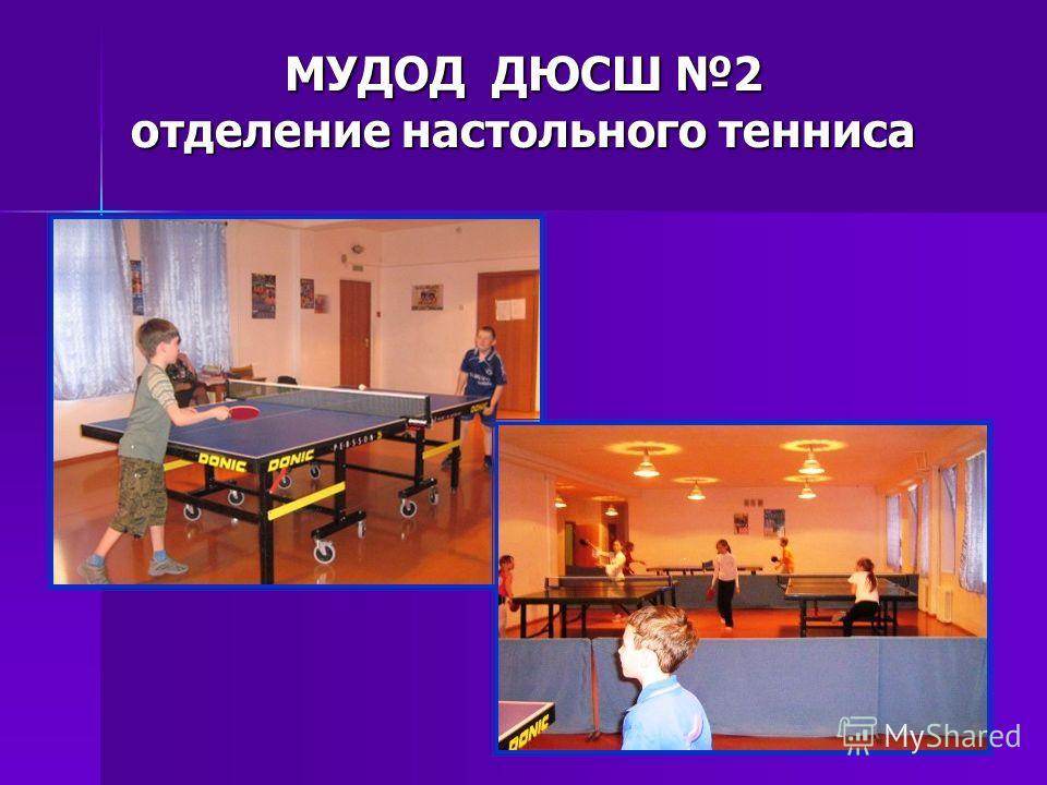 12 МУДОД ДЮСШ 2 отделение настольного тенниса