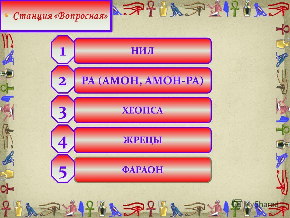 НИЛ РА (АМОН, АМОН-РА) ХЕОПСА ЖРЕЦЫ ФАРАОН 2 3 4 5 1
