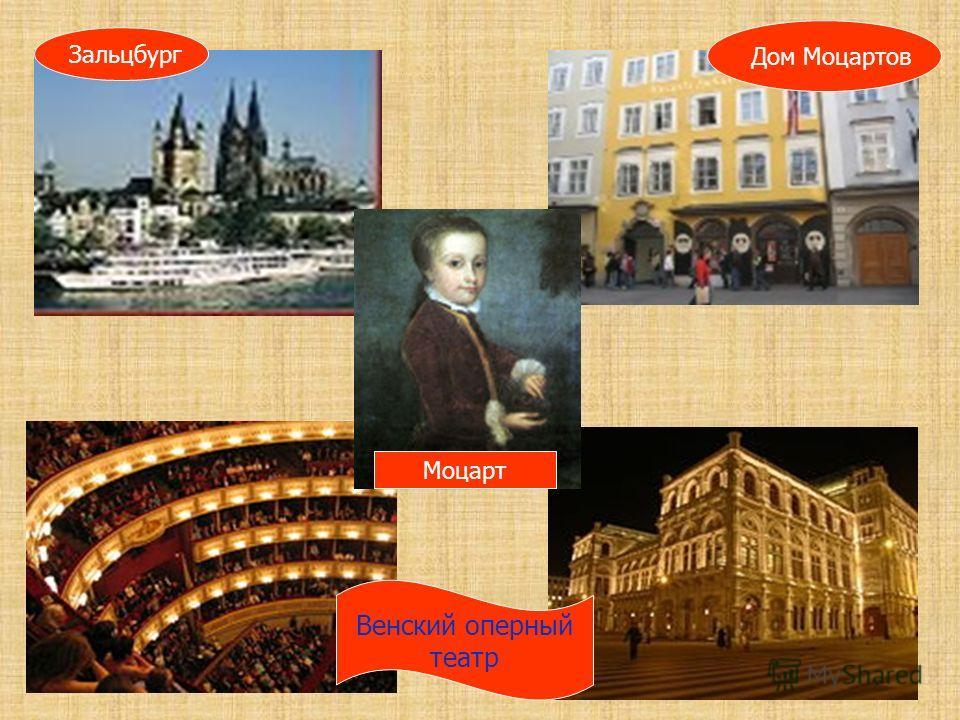 Венский оперный театр Моцарт Зальцбург Дом Моцартов