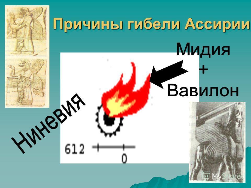 Причины гибели Ассирии