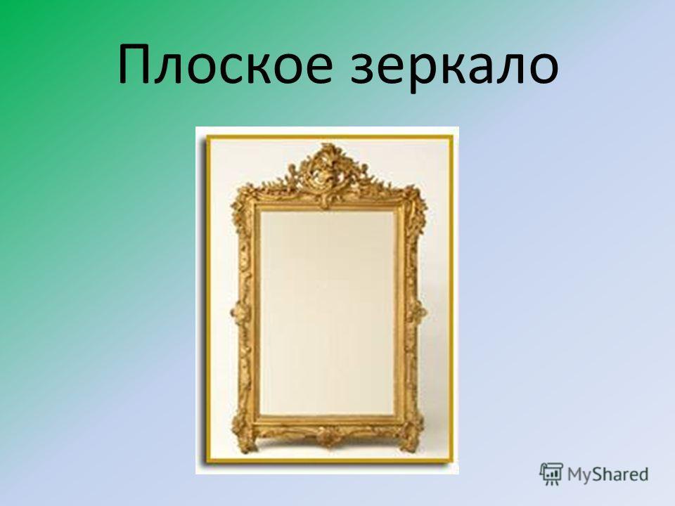 Плоское зеркало