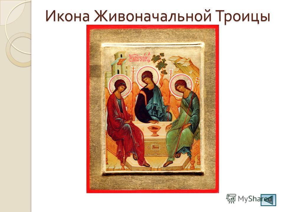 Икона Живоначальной Троицы