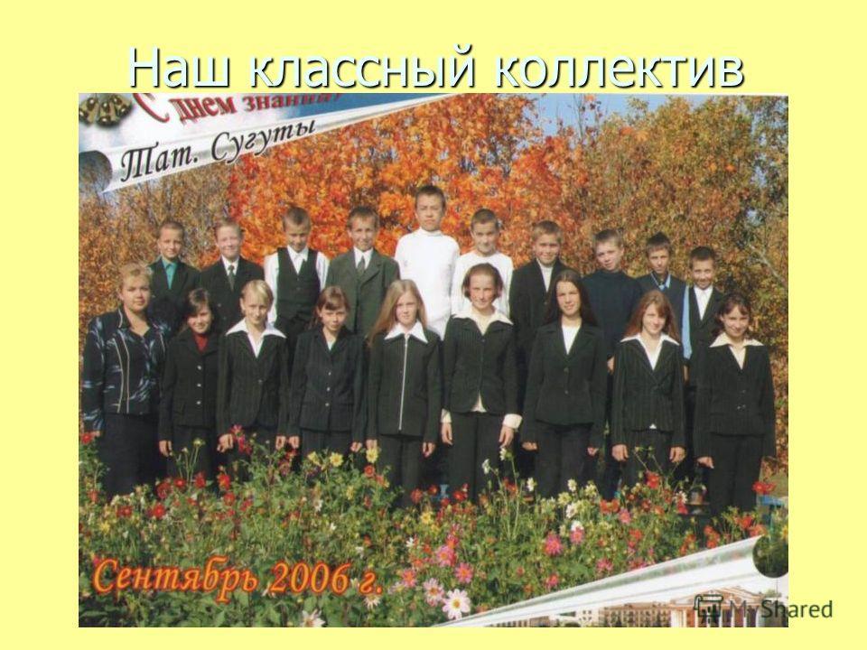 Наш классный коллектив