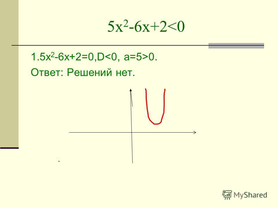5х 2 -6х+2