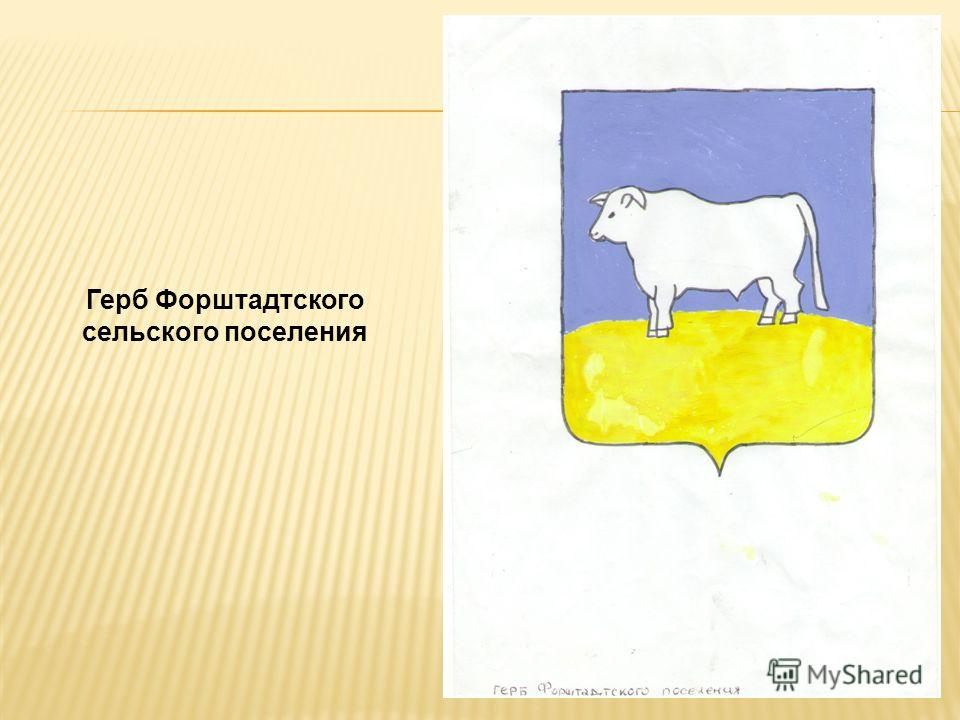 Герб Форштадтского сельского поселения